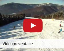 Videoprezentace ze ski are�lu Kouty - ubytov�n� v Apartm�nech v Jesen�k�ch